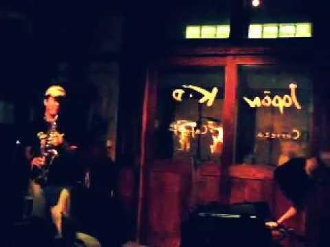RAY (dance) アカノシバヒト (sax, fl) 依田拓 (e-vo,etc) improvisation