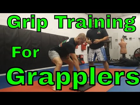 Grip Training For Grapplers (6 Exercises For Strength And Endurance)