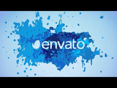 Paint Splash Logo (After Effects Template)