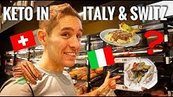 KETO IN ITALY & SWITZERLAND! (EP. 3)