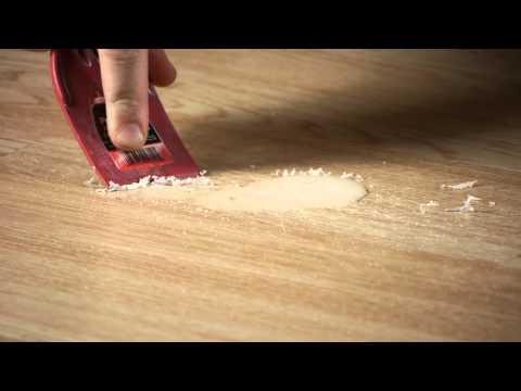 How to Clean Scented Candle Wax Off Laminate Flooring : Working on Flooring