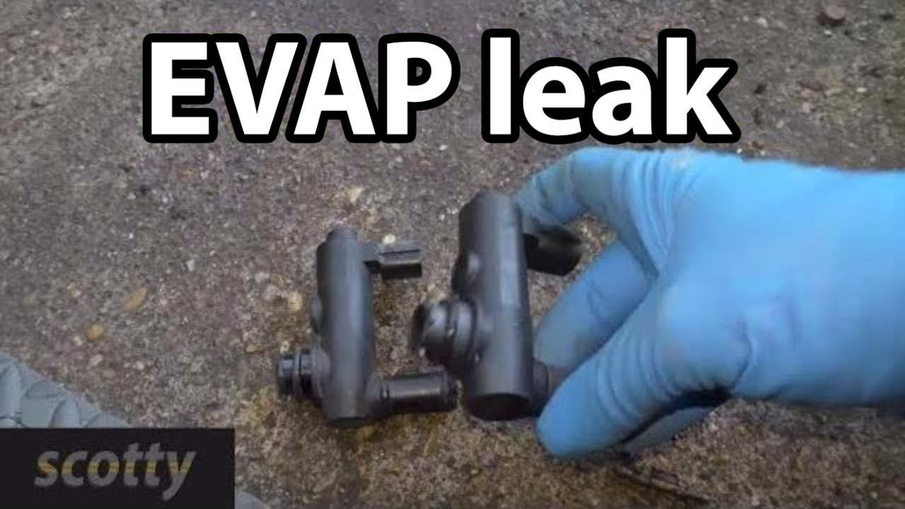 How To Fix Large Evap Leaks On Your Car P0455  YouTube