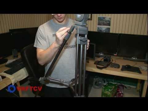 VRFTCV Episode #2 Libec LS-22m(2A) 2 Stage Alluminum Tripod System