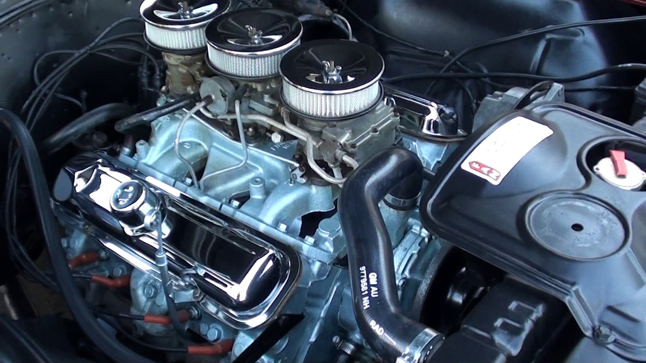 1965 Pontiac Gto 4190000 Youtube Phs Documented 4 Speed Tri Power 389 Red Black