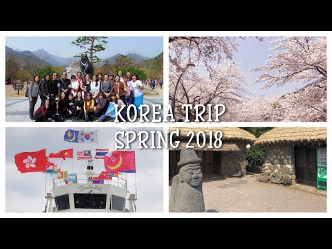 KOREA TRAVEL VLOG || SPRING 2018