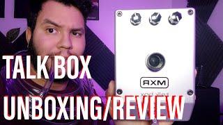 MXR M222 Talk Box Unboxing / Review