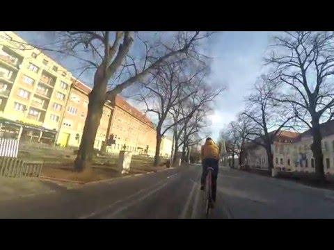 Cycling in Szczecin, Poland