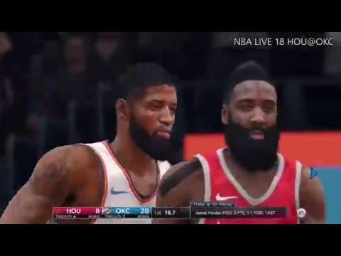 Houston Rockets @ Oklahoma City Thunder | NBA LIVE 18 | Christmas Day: Dec.25,2017 Full Game