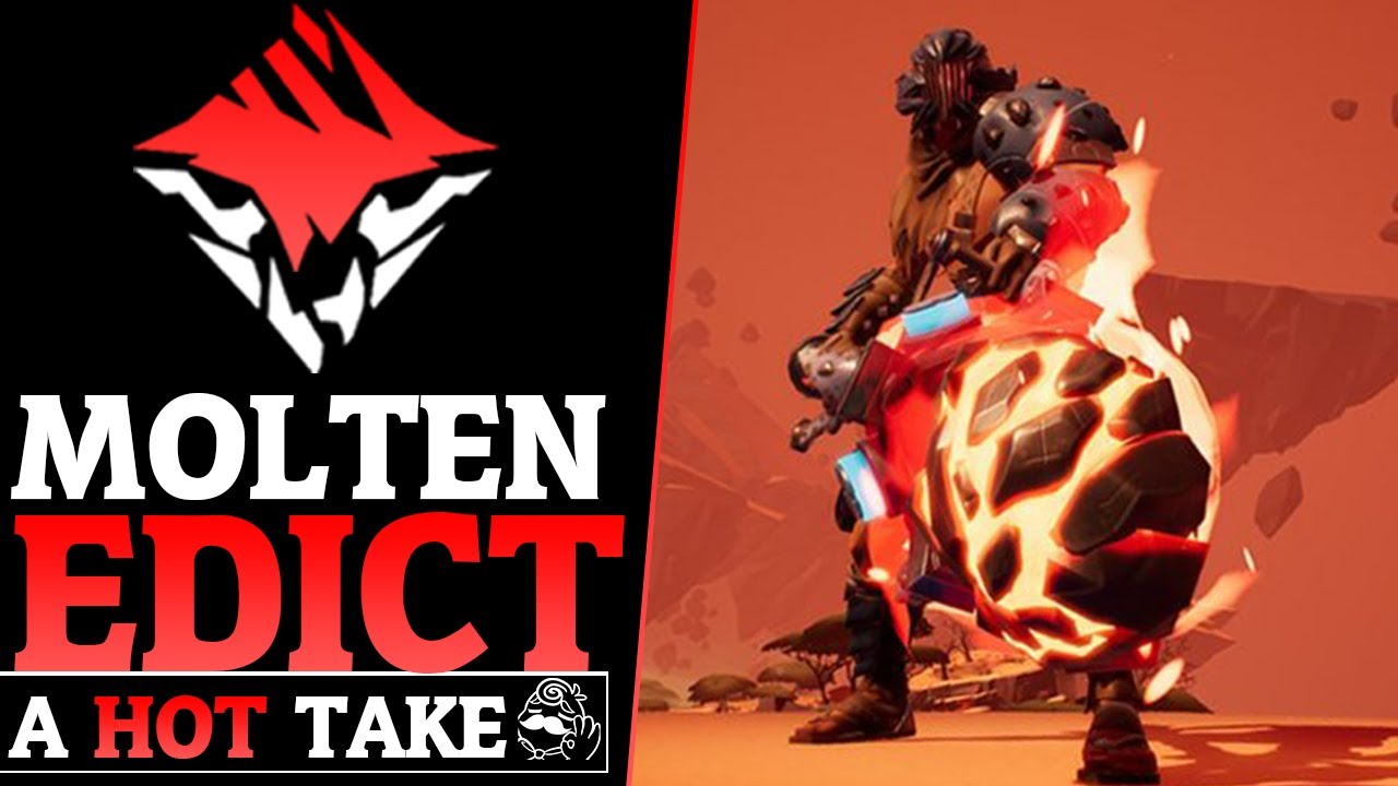 Dauntless Exotic Molten Edict - Exotic Builds and DPS Hammer Gameplay -  Dauntless Patch 0 8 2