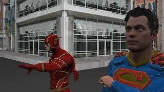 Superman Or Flash: Whos fastest?