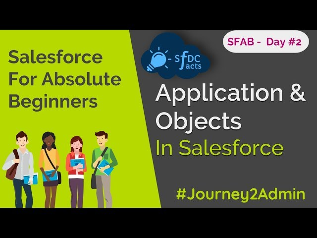 SFAB Day #2 | Application and Objects In Salesforce | Standard & Custom Objects | SFDCFacts