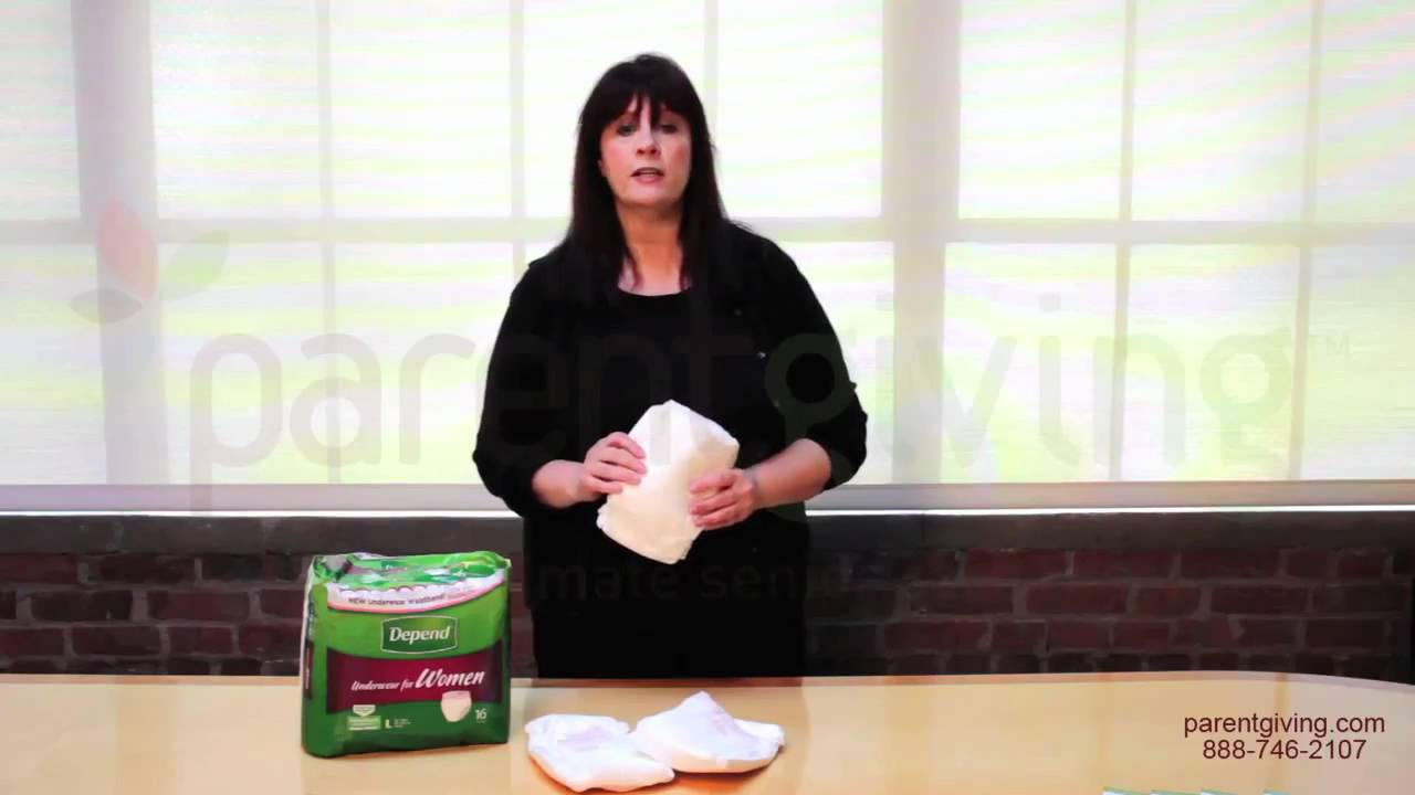 Women wearing wedding diapers - Depend Underwear For Women Extra Absorbency Kbc19761