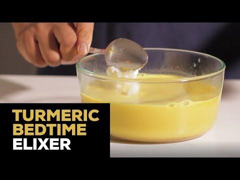 Turmeric And Coconut Milk Bedtime Elixir