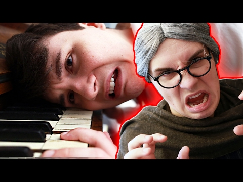 Thumbnail: My Evil Piano Teacher