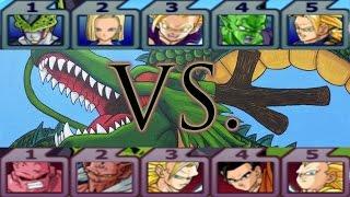Dragon Ball Z Budokai Tenkaichi 3: Team Android Saga Vs. Team Buu Saga Duel