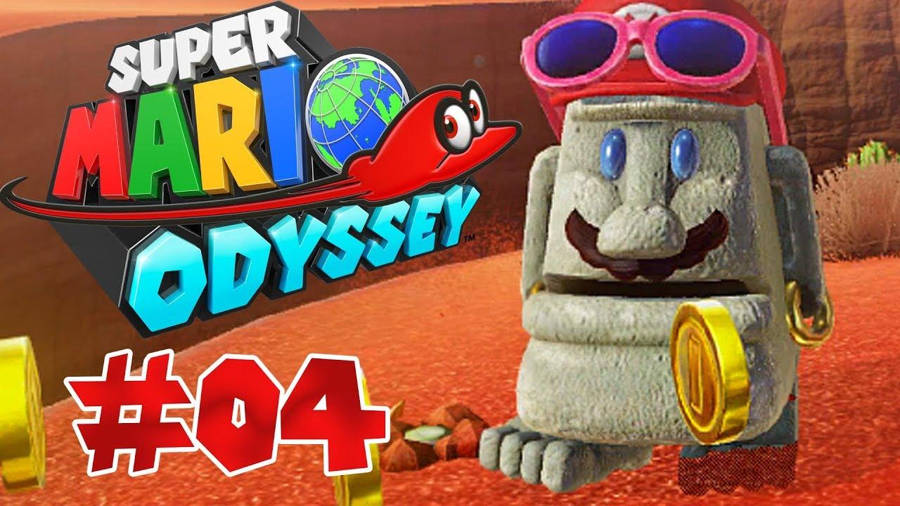 MARIO wird zu STEIN! I Super Mario Odyssey #04 - YouTube