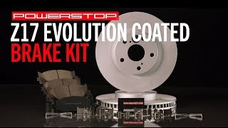 homepage tile video photo for Z17 Evolution Coated Brake Kit | PowerStop