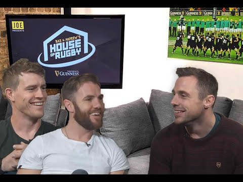 Tommy Bowe interview, Zebo's apology & Ireland squad predictions - Baz & Andrew's House of Rugby Ep2