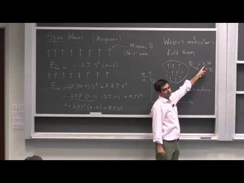 Solid State Magnetism (Lecture 19): Spin Waves (Magnons)