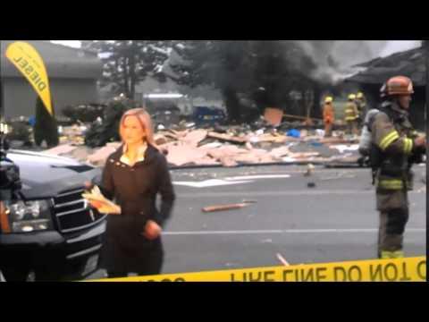 North Bend WA.- Massive explosion- 4/25/2014