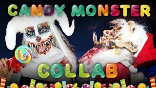 Candy monster collab with Bonnie Corban SFX
