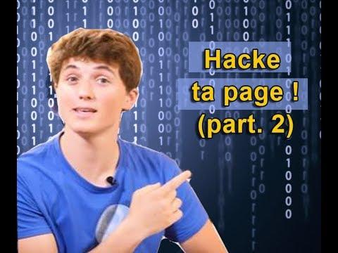 "Hacke ta page (part.2/4) - ""3 minutes pour coder"""