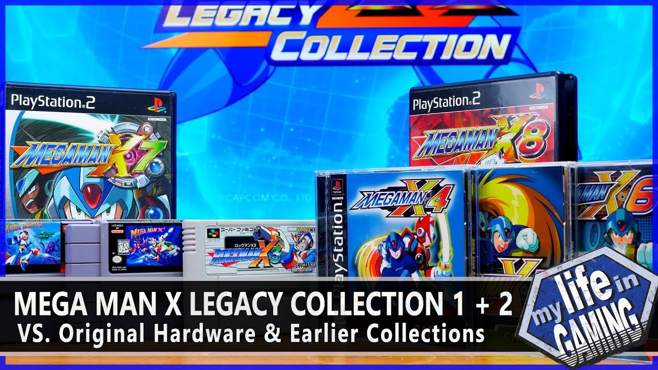Mega Man X Legacy Collection (PS4) VS  Originals & X Anniversary Collection  / MY LIFE IN GAMING
