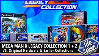Mega Man X Legacy Collection (PS4) VS. Originals & X Anniversary Collection / MY LIFE IN GAMING