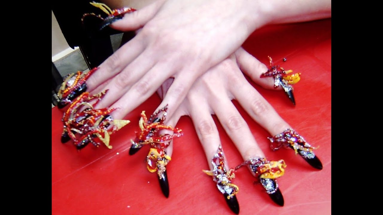 Unique Nail Designs - Unique Nail Designs - YouTube
