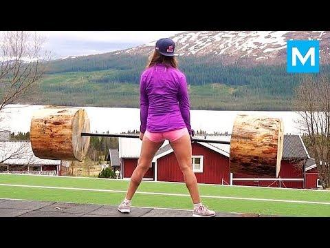 REAL NINJA GIRL - Fanny Josefine   Muscle Madness