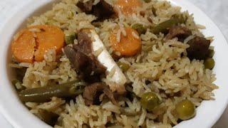 Pulao l Ramadan special combination pulao in cooker