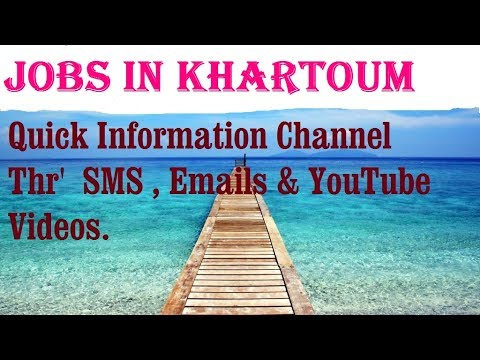 Jobs in KHARTOUM City for freshers & graduates. industries, companies. SUDAN