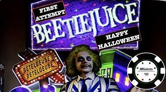 🎃 1ST ATTEMPT ON BEETLEJUICE 🎃 SLOT MACHINE 🎃HAPPY HALLOWEEN 🎃