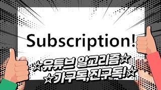 유튜브 알고리즘 가구독,진구독  YouTube algorithm  Subscription 자동구독취소 유튜브알고리즘