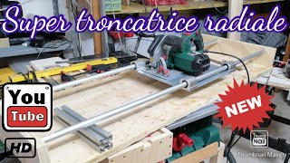 #parkside #faidate #troncatrice Super troncatrice radiale Super radial cutting-off machine