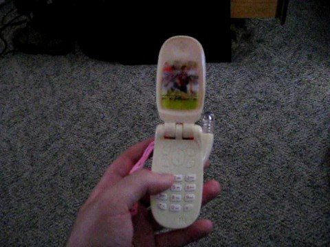 Benign Girl Cell Phone Toy