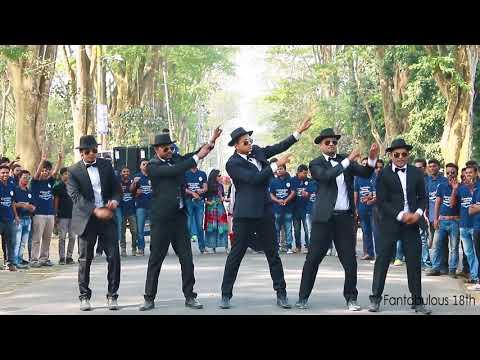 Rajshahi University Official Flash Mob of Rag Marketing 18th | Fantabulous 18th