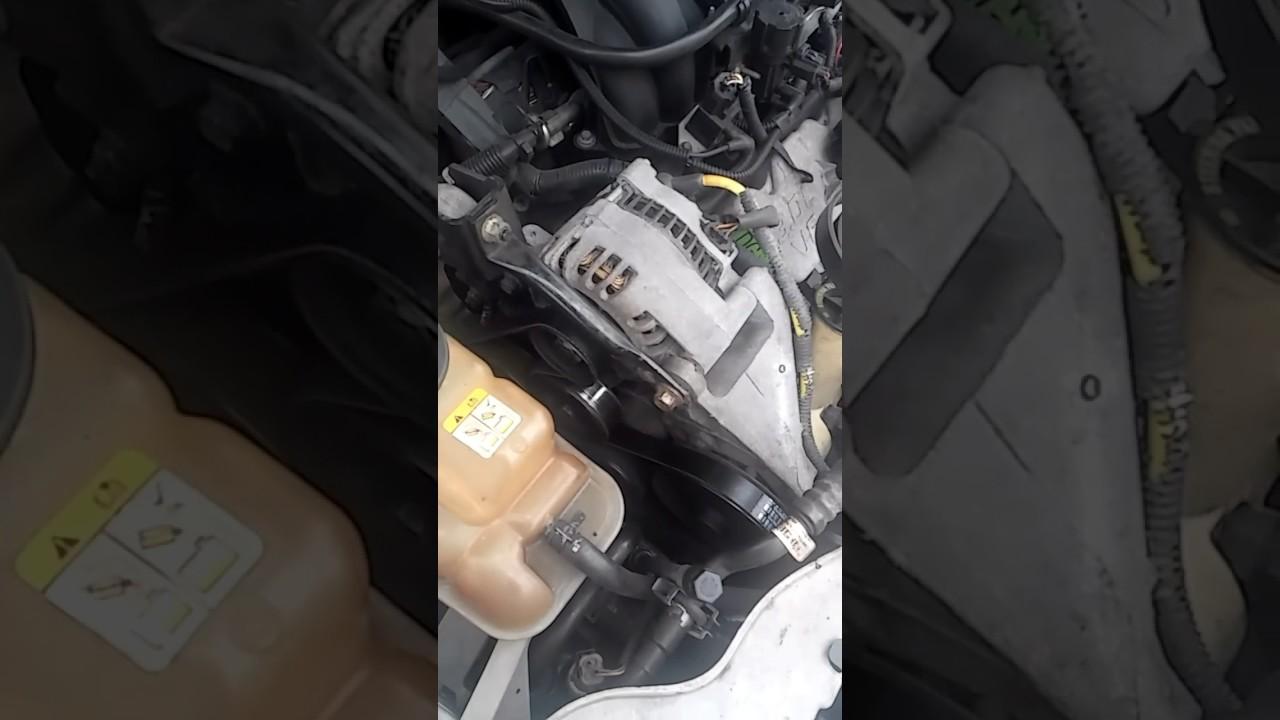 medium resolution of 2005 ford taurus ac compressor bypass belt