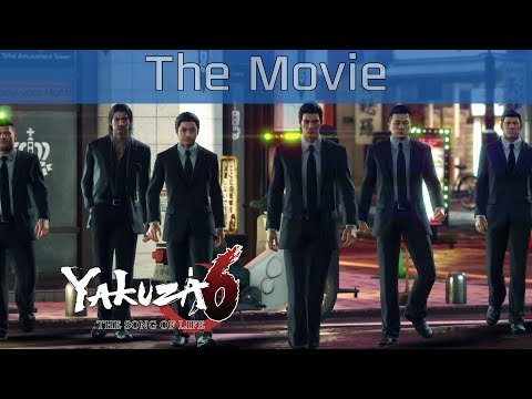 Yakuza 6: The Song of Life  All Cutscenes Gameplay The Movie HD 1080P