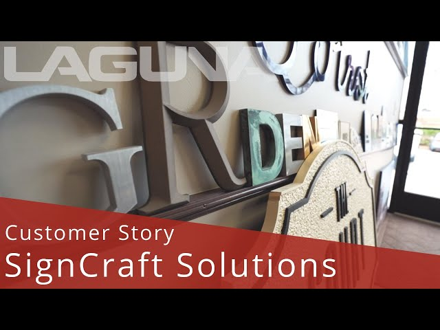 Sign Making With a SmartShop® Multi Tool CNC Featuring SignCraft Solutions | Customer Stories