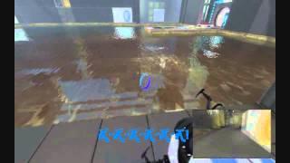 Смешные моменты прохождения Portal 2, Часть 2.(Шустрила и Рэн Геймер)
