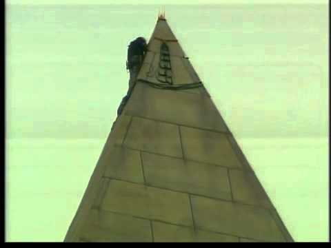 Engineers looking for cracks in Washington Monument
