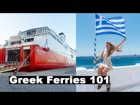 Greek Ferry Travel | Everything You Need To Know | Mykonos To Athens, Greece | Fast Ferries