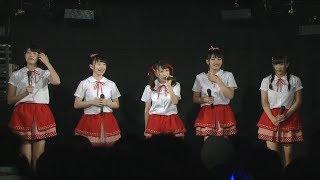 8月7日に行われたデビュー4周年記念ライブより、 メンバーの感謝のコメ...