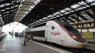 Voyage dans le TGV Lyria 9261 Paris Gare de Lyon - Lausanne