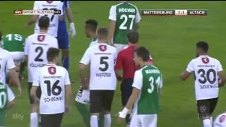 SV Mattersburg - SCR Altach HIGHLIGHTS (24.10.2015)