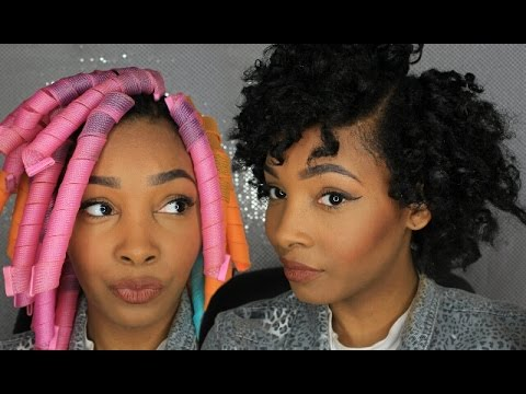 How To Stretch Natural Hair W Curlformers