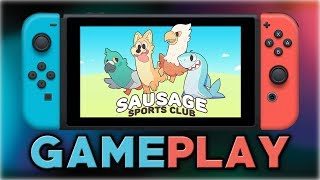 Sausage Sports Club   First 20 Minutes in Co-op   Nintendo Switch