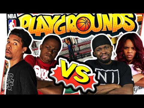 CRAZY SHOWDOWN! WHO RUNS THE PLAYGROUND?! - NBA Playgrounds Gameplay