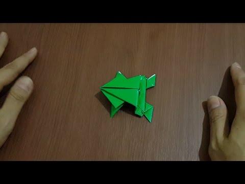 Cara Membuat Origami Hewan Kodok Dengan Mudah